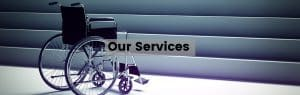 our services header