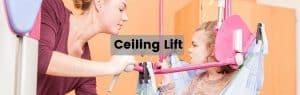 Ceiling lift header