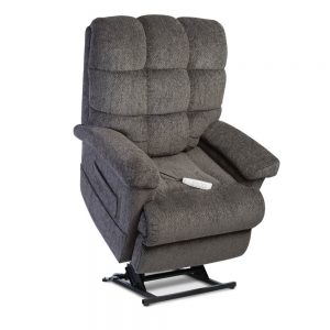 Seat lift in grey with remote control