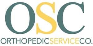 Orthopedic Service Copmany logo white background