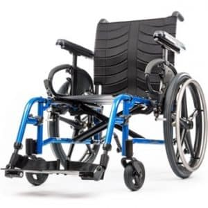 QXi QX wheelchair facing forward