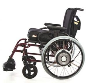 Xtender Beauty wheelchair facing to the left